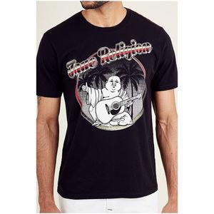 True Religion Men's Short Sleeve Tee T-Shirt